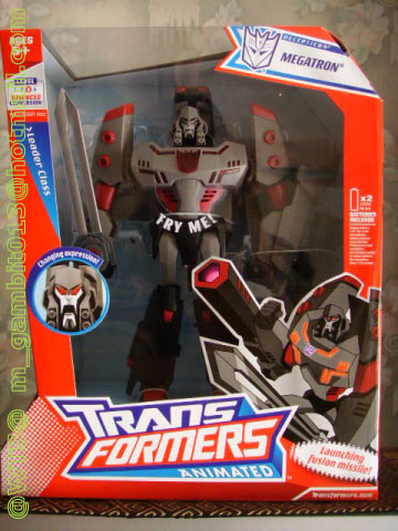 TRANSFORMER LEADER CLASS MEGATRON ANIMATED [SOLD OUT]