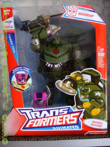 TRANSFORMER LEADER CLASS BULKHEAD ANIMATED  [SOLD OUT]