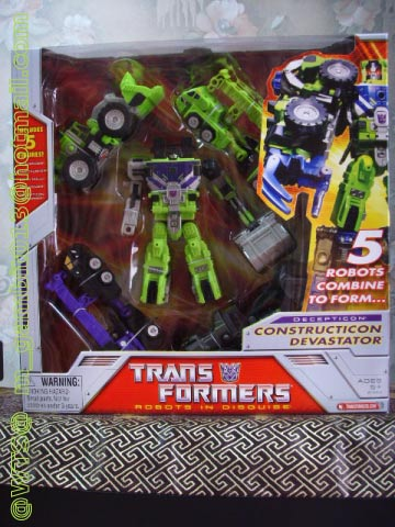 TRANSFOMER CLASSIC DX CONSTRUCTION DEVASTATOR [SOLD OUT]
