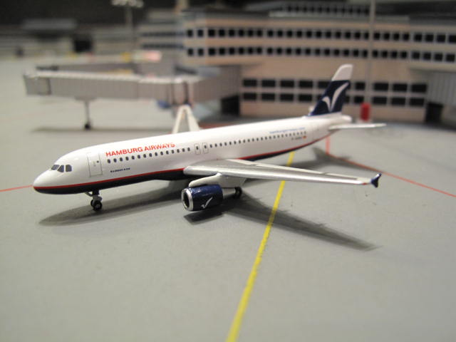 HERPA WINGS 1:500 HAMBURG AIRWAYS A320 D-AHHC HW518932