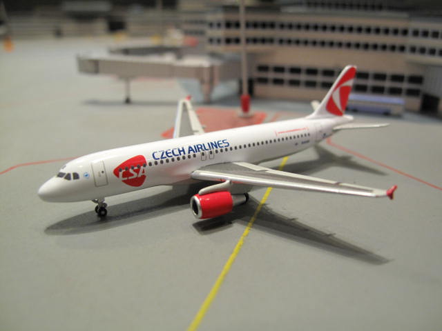 HERPA WINGS 1:500 CSA CZECH AIRLINES A320 OK-GEB HW509565-001