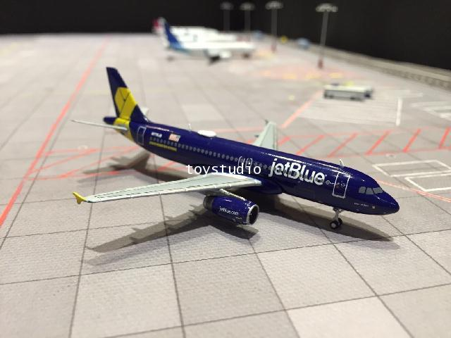 GEMINI JETS 1:400 JetBlue A320 Jet Blue Honors our Veterans N775JB GJ1546