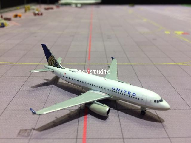 HERPA WINGS 1:500 United A320 N491UA HW531252