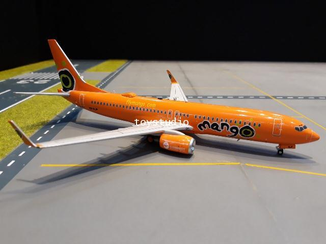 INFLIGHT 1:200 Mango 737-800 ZS-SJP IF738JE0419