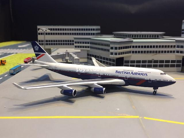 HERPA WINGS 1:500 British 747-400 100th G-BNLY HW533393
