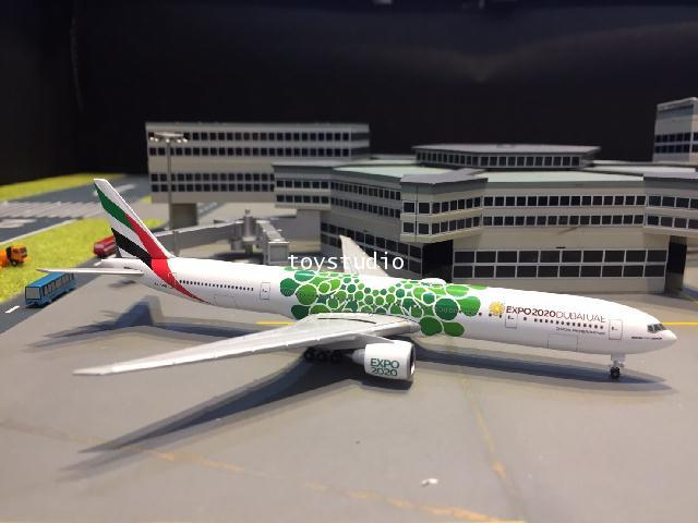 HERPA WINGS 1:500 Emirates 777-300ER Expo 2020 A6-ENB HW533720