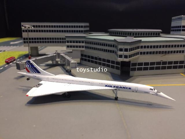 HERPA WINGS 1:500 Air France Concorde F-BVFC HW532839
