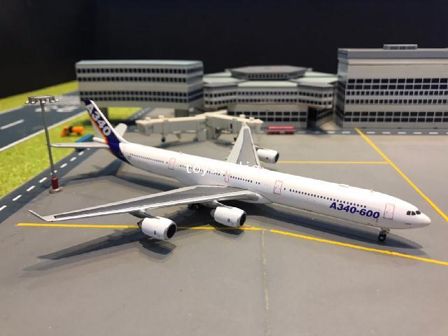 JC Wings 1:400 Airbus A340-600 F-WWCC LH4167