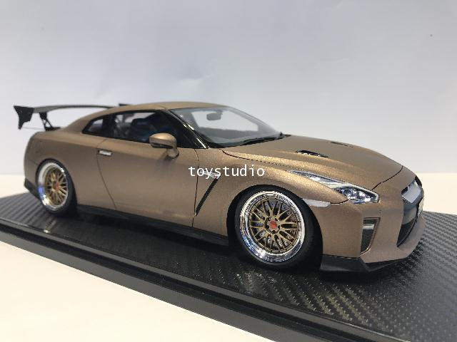 Ignition Model 1:18 Nissan GT-R35 Premium Edition Matte Brown IG1760