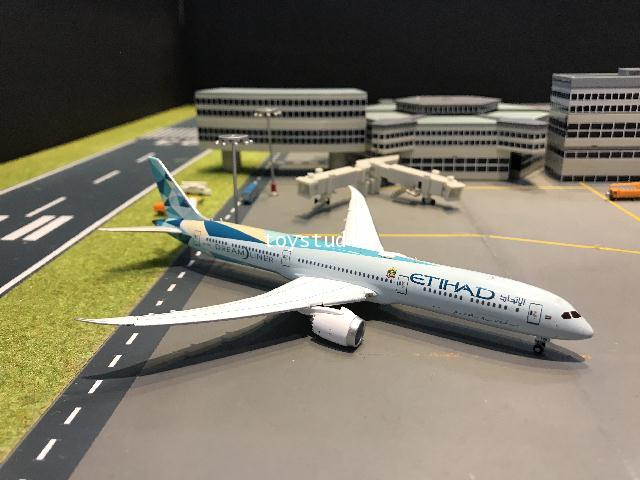 JC Wings 1:400 Etihad 787-10 Greenliner FD A6-BMH XX4300A