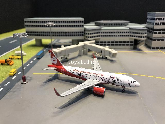 JC Wings 1:400 Air Berlin A320 Flying Home Christmas D-ABNM LH4099