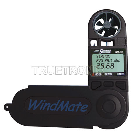 WM-350 WindMate Multi-function Weather Meter + Carry Case