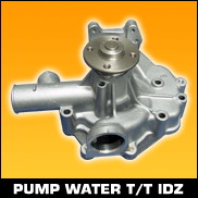 PUMP WATER  TOYOTA IDZ
