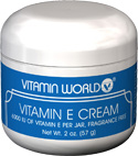 (Out of Stock)Vitamin E Cream (Vitamin World 610) 2 oz.