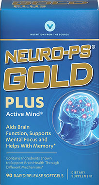 Neuro-PS Gold with DHA (Vitamin World 17148) 90 Softgels (พร้อมส่ง)