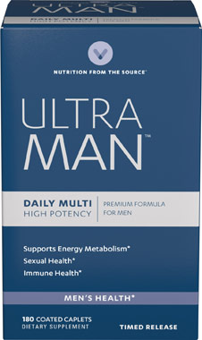 (Out of Stock) Ultra Man (Vitamin world 3895) 180 Coated Tablets วิตามินรวมสำหรับผู้ชาย
