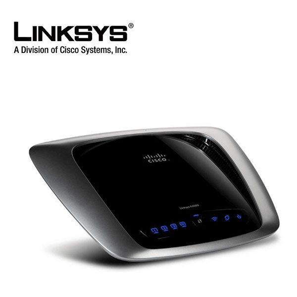 Linksys E2000 Wireless Router Selectable Dual Band Gigabit 802.11abgn 2.45GHz up to 300Mbps