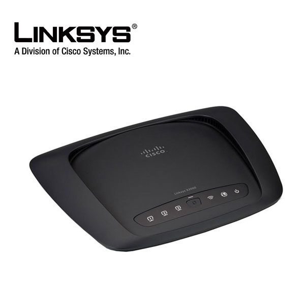 Linksys X2000 Wireless-N 2.4 GHz ADSL2+ Modem Router  2T2R MIMO + 2 Antennas