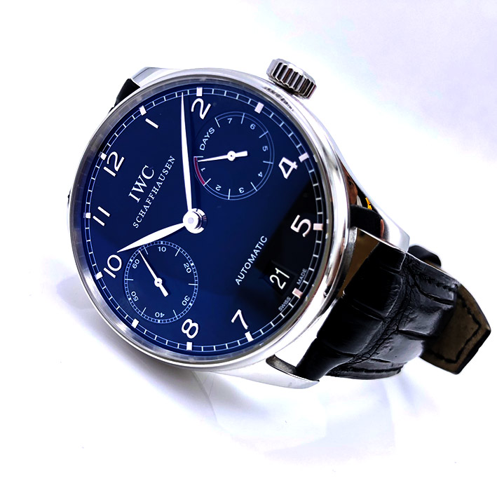IWC Portugieser 7-Days Automatic Men\'s Watch ขนาด 42 mm.