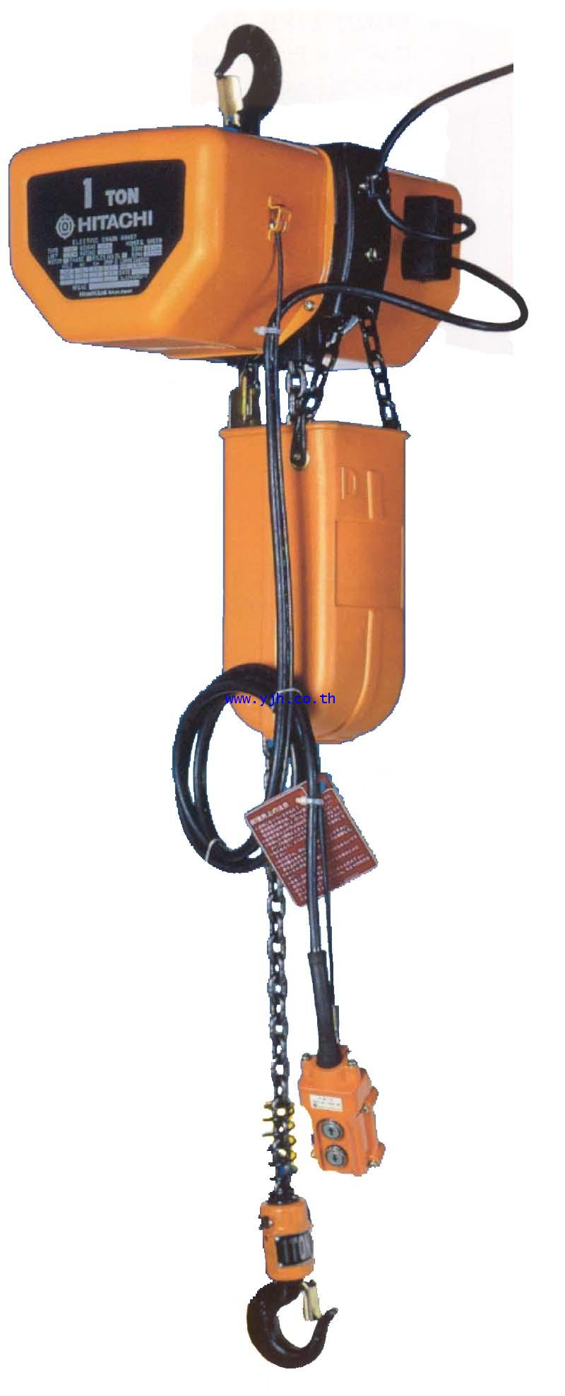 Electric chain hoist hitachi 1sh 1 ton 3054939 for 1 4 ton chain motor
