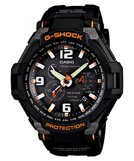 CASIO G-shock G-1400-1A Gravity Defier