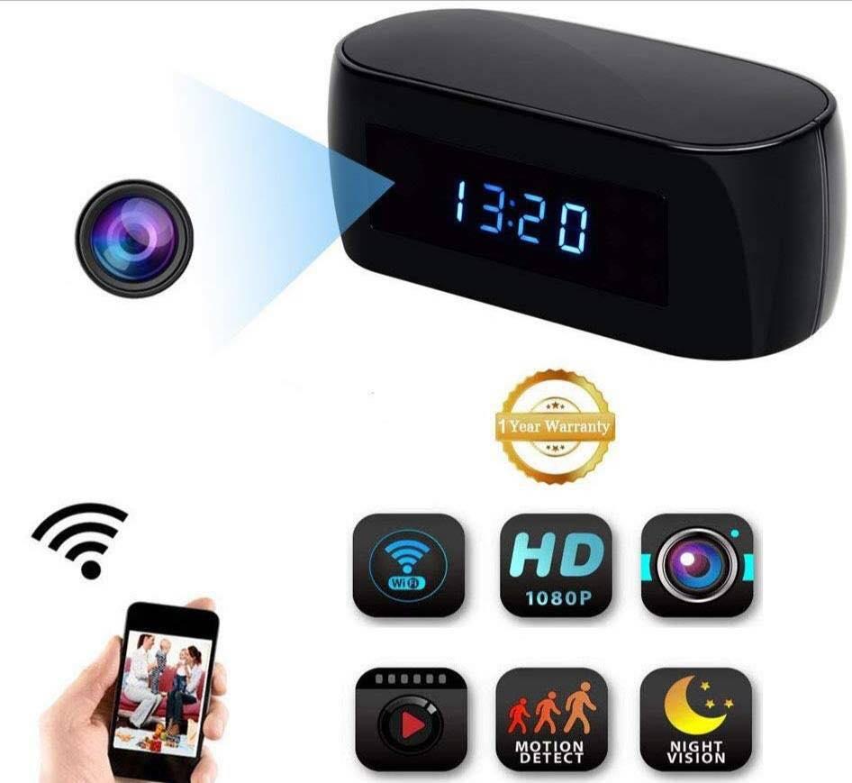 กล้องนาฬิกาตั้งโต๊ะ รุ่น WiFi  ลดราคาเหลือเพียง 2,900 บาท  จากปกติราคา 6,000 บาท Promotion พิเศษ  วันนี้ – 22 กรกฎาคม  2562  ส่งฟรี Kerry สำหรับลูกค้าพร้อมโอนนะคะ