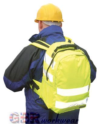 high visibility rucksack