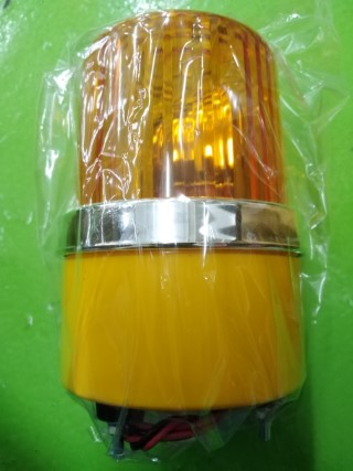 ROTARY WARNING LIGHT MODEL: CG SIZE1 12VDC YELLOW ราคา 550 บาท