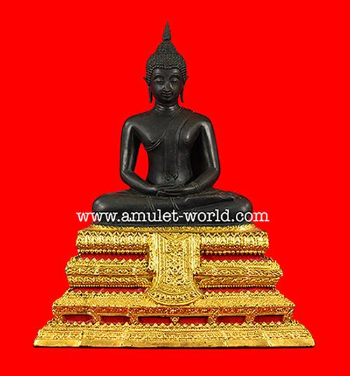 พระบูชา พระประธานวัดระฆัง ปี 2515 รุ่น อนุสรณ์100 ปี แห่งการมรณะภาพสมเด็จโตฯ