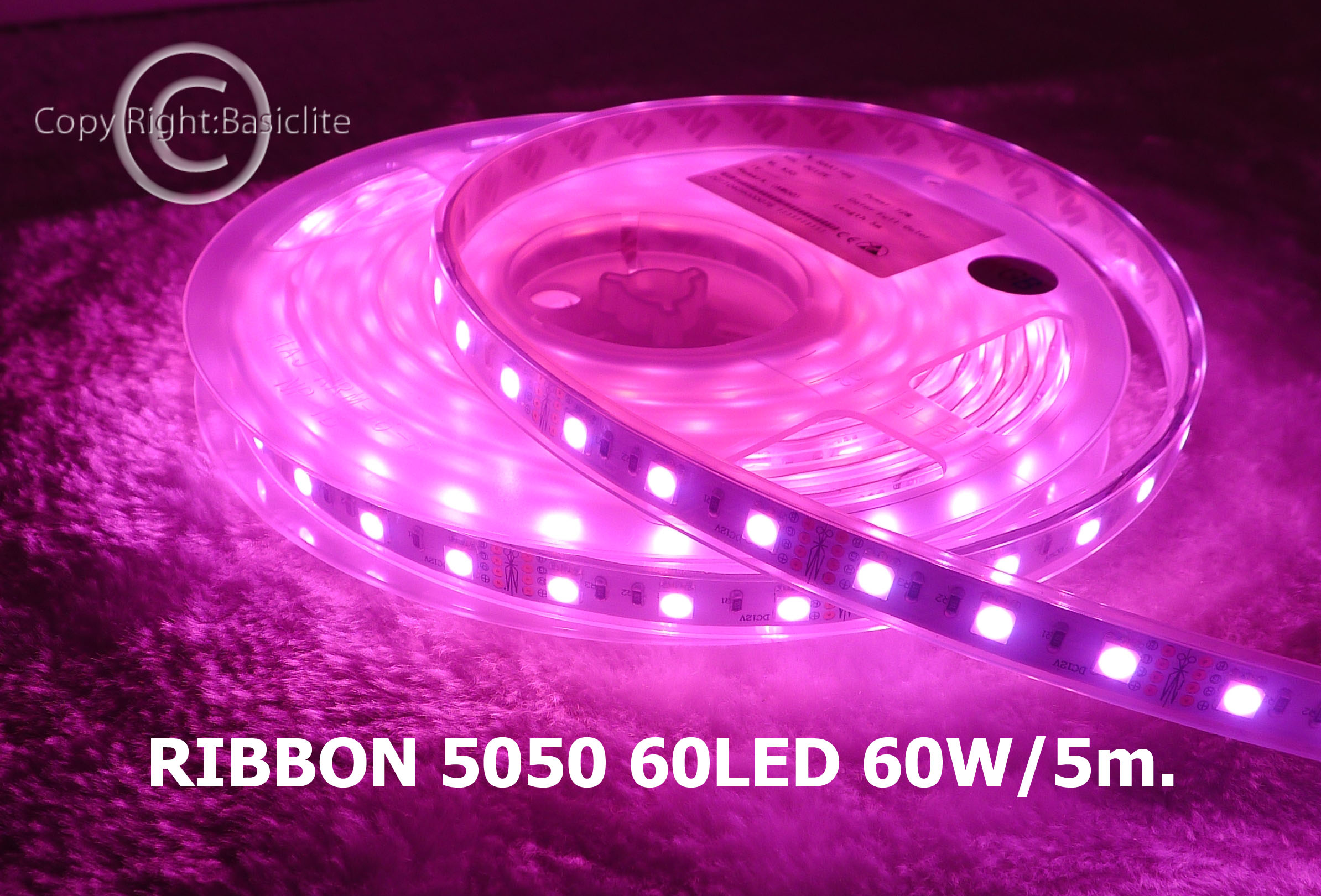 LED RIBBON 60LED 60W (RGB)/ Code: 1-11-00006