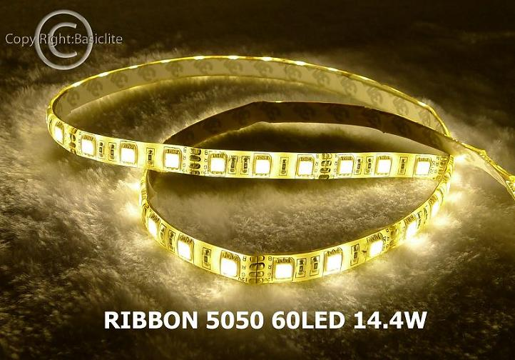 LED RIBBON 60LED 72W (WW)/ Code: 4-11-00002
