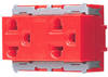 เต้ารับคู่มีกราวด์ สีแดง WNG15923-7R Panasonic