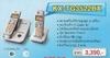 โทรศัพท์ไร้สาย พานาโซนิค KX-TG3712BX สีเงิน ซิลเวอร์