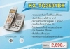 โทรศัพท์ไร้สาย พานาโซนิค KX-TG3721BX สีเงิน ซิลเวอร์