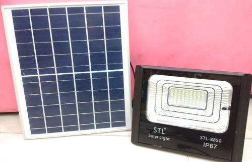 โคมไฟ สปอร์ตไลท์ พลังงานแสงอาทิตย์ LED   solarcell 100 วัตต์ แสงขาว รับประกัน1ปี - คลิกที่นี่เพื่อดูรูปภาพใหญ่