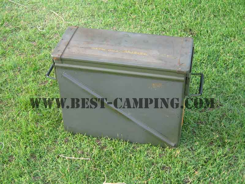 AMMO CASE CAN BOX 20MM 100 CARTRIDGES (มือสอง)