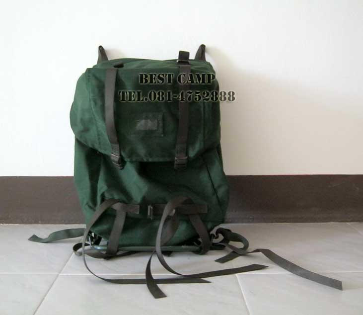 กระเป๋า,เป้,BACKPACK,EU ARMY EQUIPMENT MAIN PACK,(GREEN)