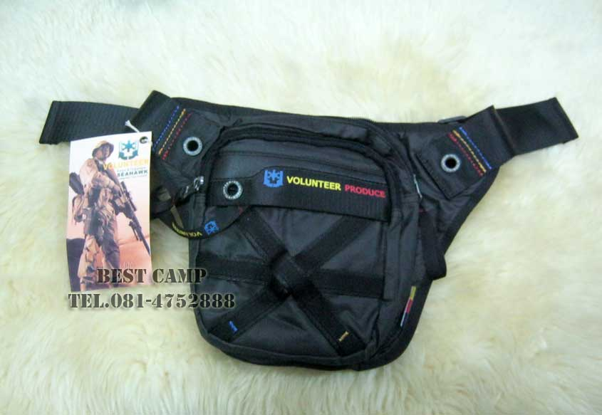 กระเป๋าแนว TACTICAL ,OUTDOOR,VOLUNTEER VA-1543-15 BLACK,GREEN