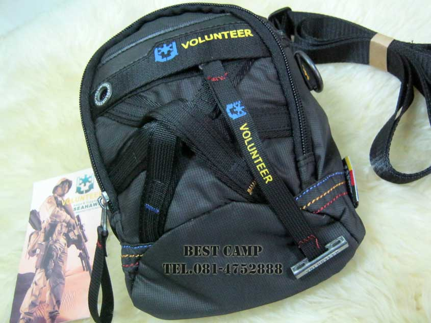กระเป๋าแนว TACTICAL ,OUTDOOR,VOLUNTEER VA-1543-16 BLACK,GREEN