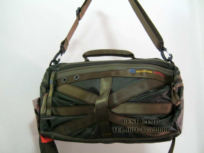 กระเป๋าแนว TACTICAL ,OUTDOOR,VOLUNTEER VA-1543-13 BLACK,GREEN