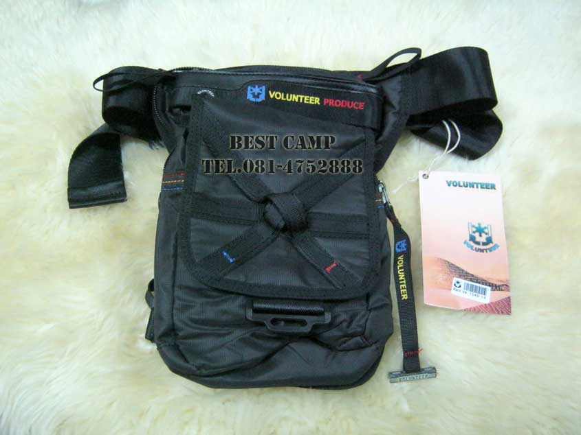 กระเป๋าแนว TACTICAL ,OUTDOOR,VOLUNTEER VA-1543-14 BLACK,GREEN