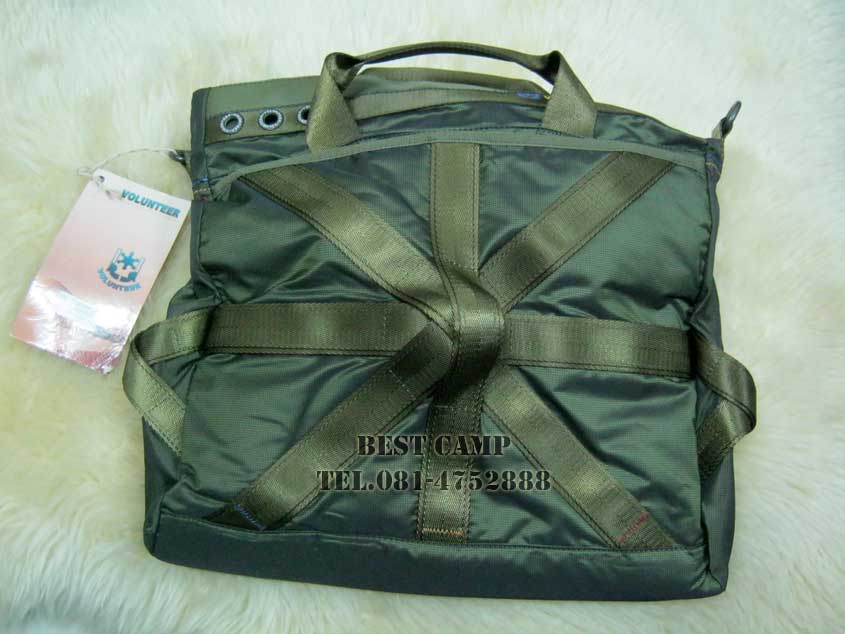 กระเป๋าแนว,TACTICAL,OUTDOOR,VOLUNTEER,VA-1543-11,BLACK,GREEN