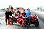 KAWASAKi ZX-10R Drag Racing ที่สุดของสองล้อไทย 9.281 วินาที