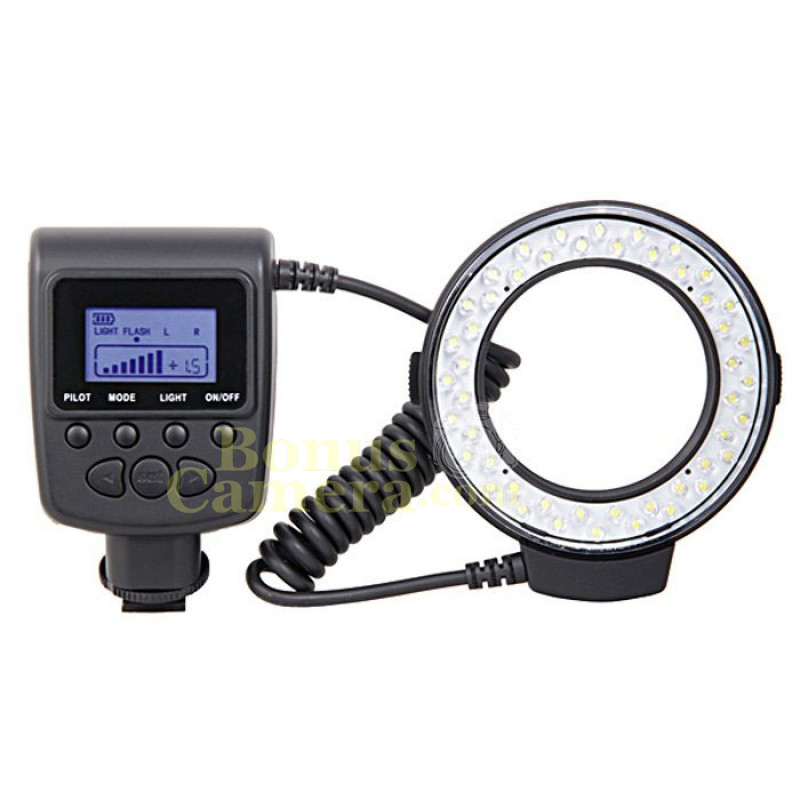 FC110 Macro Ring Flash ริงแฟลชและไฟ LED Nikon Df,D90,D500