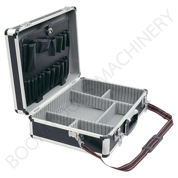 กระเป๋าเครื่องมือช่างอลูมิเนียมสีดำ SENATOR 4360K