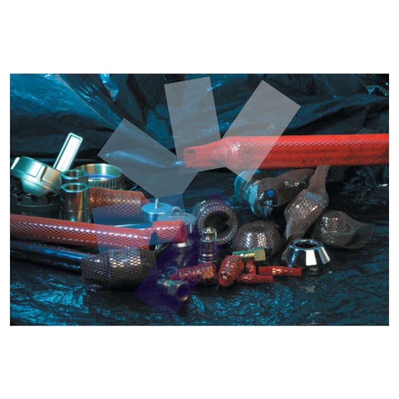 Avon.Purple Health & Safety Sleeving - 40-80mm x 50m Reel