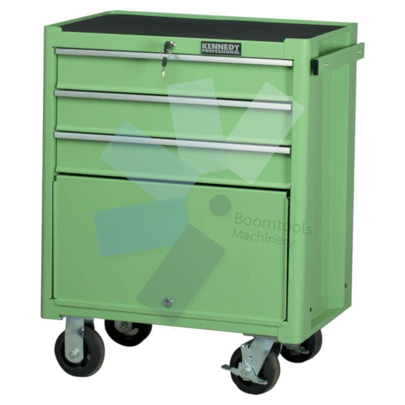 ตู้เครื่องมือช่าง 3ลิ้นชัก สีเขียว KENNEDY