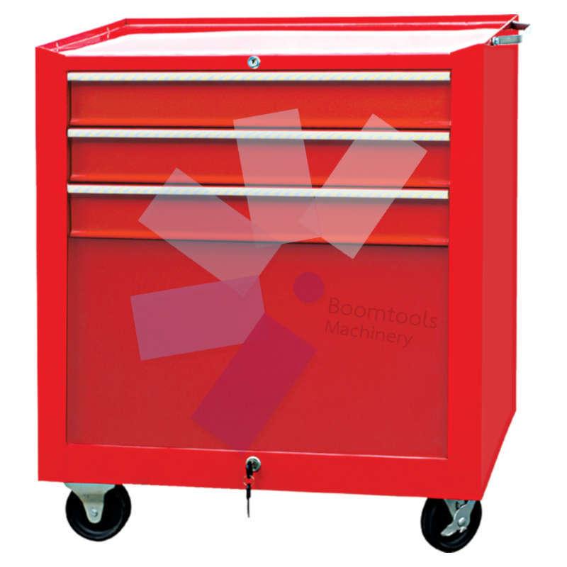 ตู้เครื่องมือช่างมีล้อ 3ลิ้นชัก สีแดง SENATOR