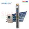 HANDURO HD-3SC3.8-55-48-400 ปั๊มน้ำบาดาล โซล่าร์เซลล์ DC 48V 400W (330W 2แผง) 3.8Q/H บ่อ3 น้ำออก1.2น