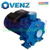 """VENZ VB300 T ปั๊มน้ำหอยโข่ง ปั๊มแรงสูง 3HP 2ใบพัด 2""""x2"""" (3เฟส 3สาย) 380V ส่งสูง ส่งไกล"""